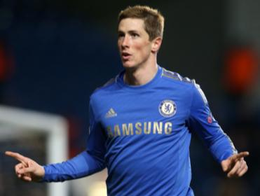 Fernando Torres put Chelsea ahead against Schalke