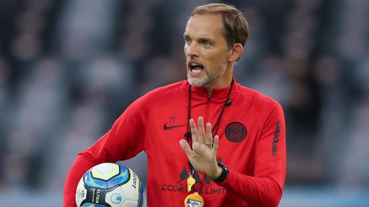 PSG manager Thomas Tuchel.