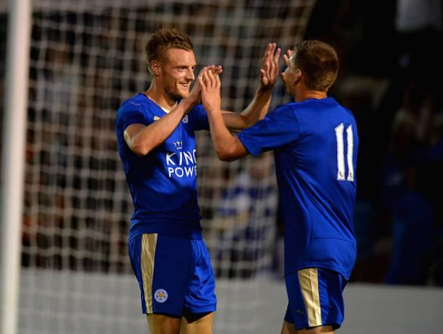 Jamie Vardy is chasing history after scoring in nine consecutive league games