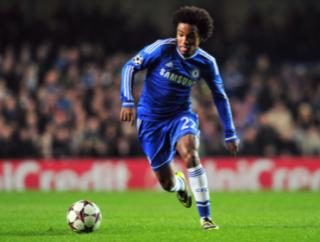 Willian was Chelsea's late match winner tonight