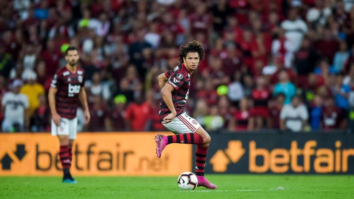 Flamengo midfielder - Willian Arão
