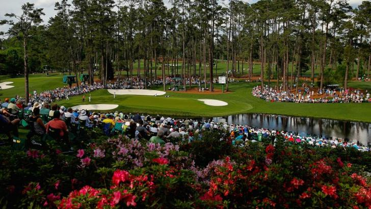 Augusta National's 16th green