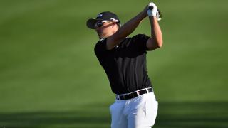 Austin Cook – the leader in California with a round to go