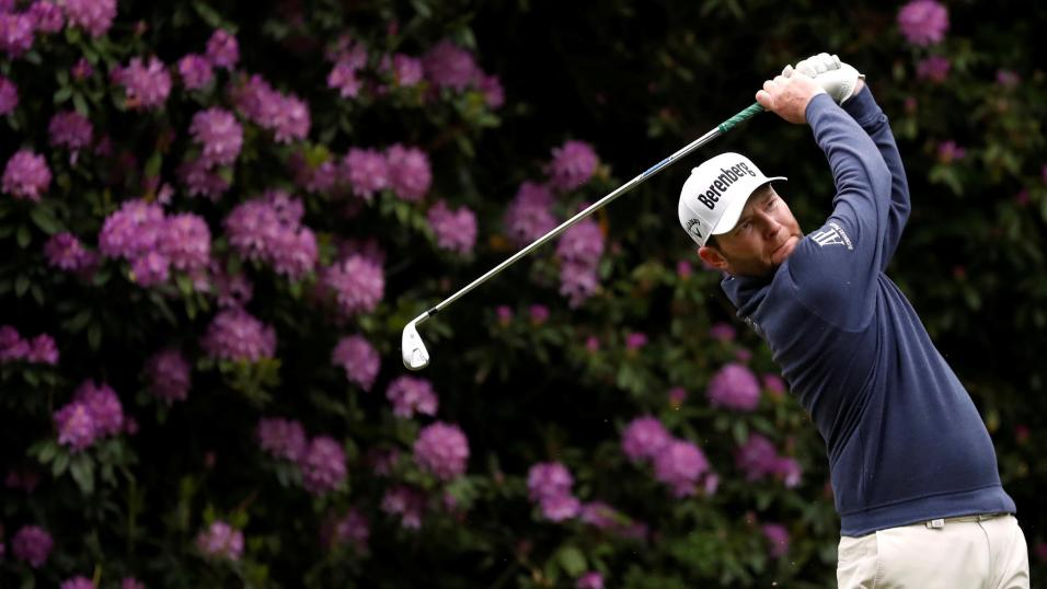 South African golfer Branden Grace