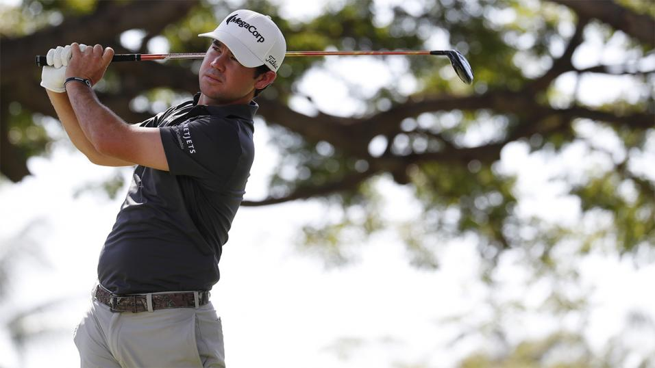 Swede Noren leads in Florida, Woods shoots even par
