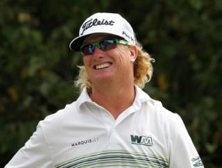 Big-hitting Charley Hoffman is not without hopes of completing a historic upset