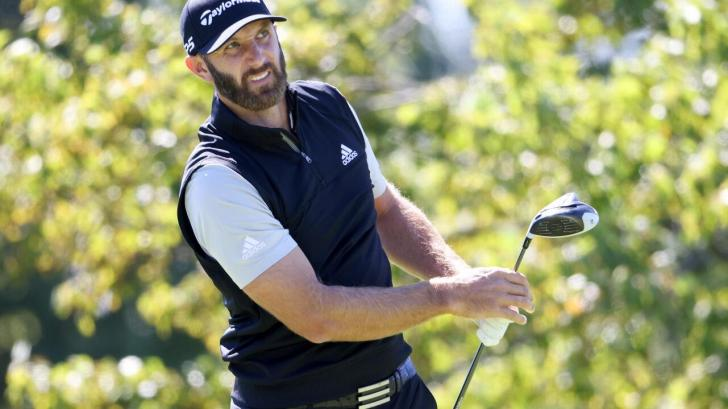 Dustin Johnson competes in Vivint Houston Open at Memorial Park