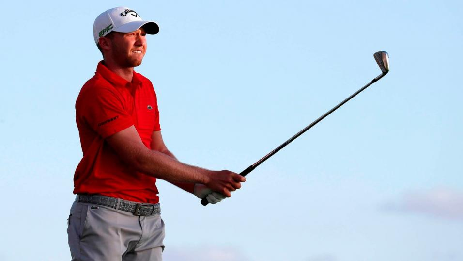 Daniel Berger can get hot in the desert