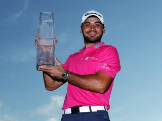 Jason Day with yet another trophy