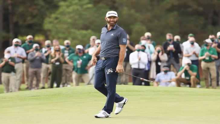 Dustin Johnson on the final round of the 2020 US Masters
