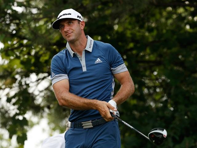 Dustin Johnson – the halfway leader at Riviera