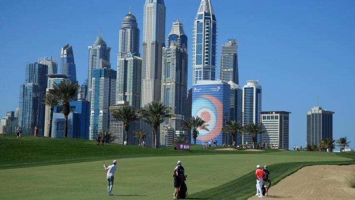 Emirates Golf Club made its European Tour debut in 1989