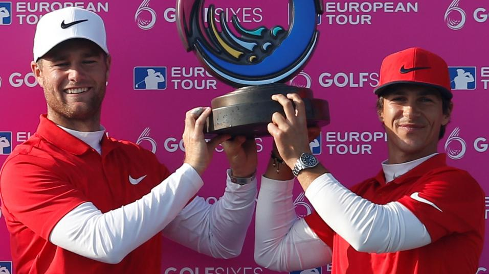 Danes Lucas Bjerregaard and Thorbjorn Olesen are the defending champions at the Centurion Club