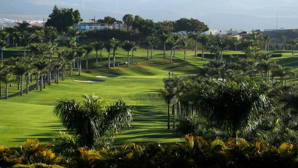 The Melonera golf course - venue for the Gran Canaria Open