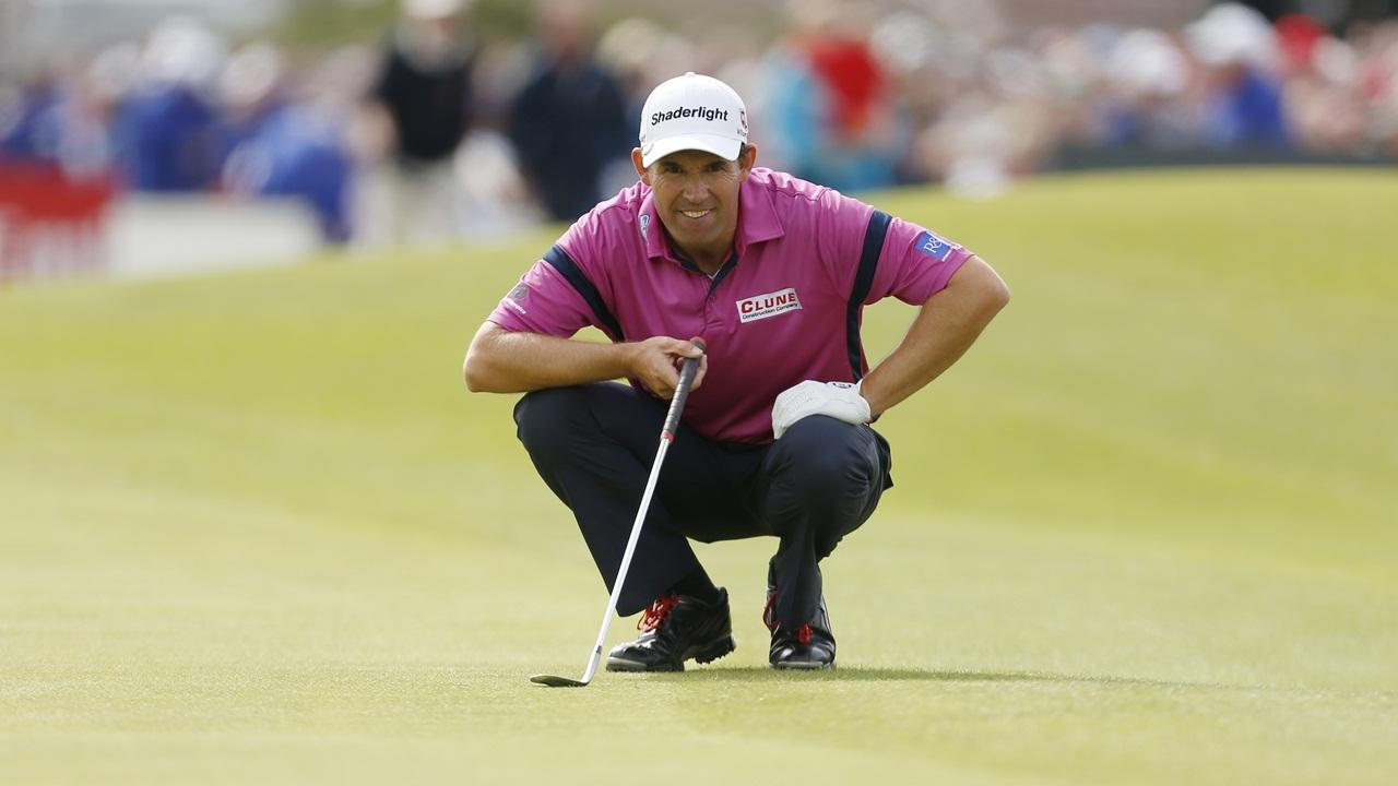 Golfer Padraig Harrington