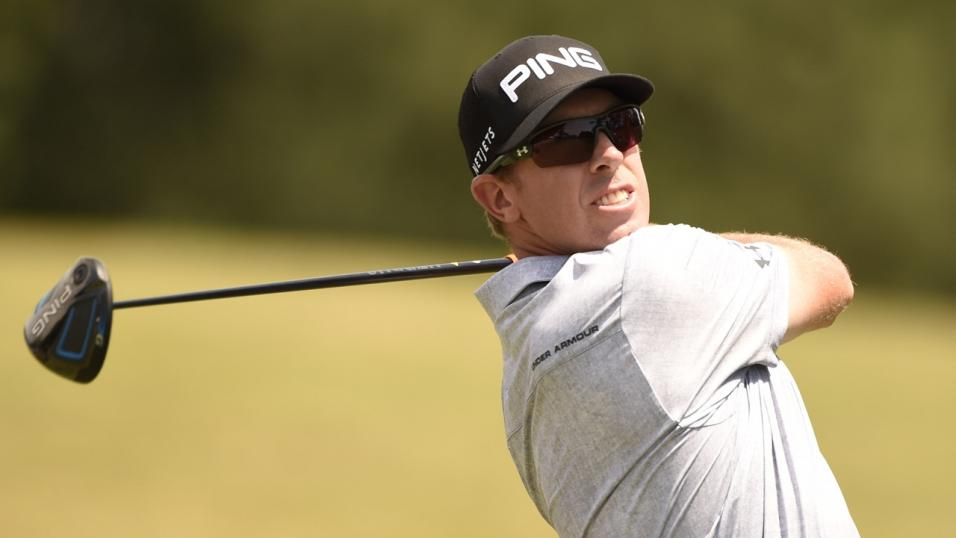 Golfer Hunter Mahan