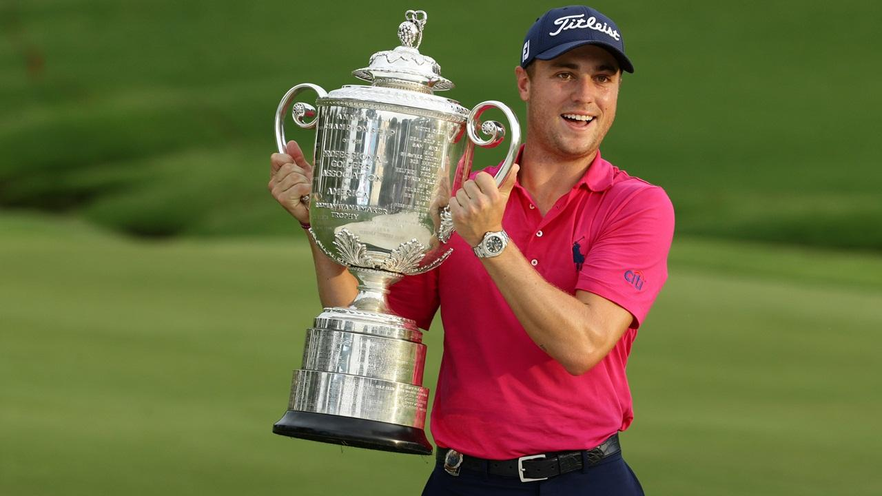 Last year's champ – Justin Thomas