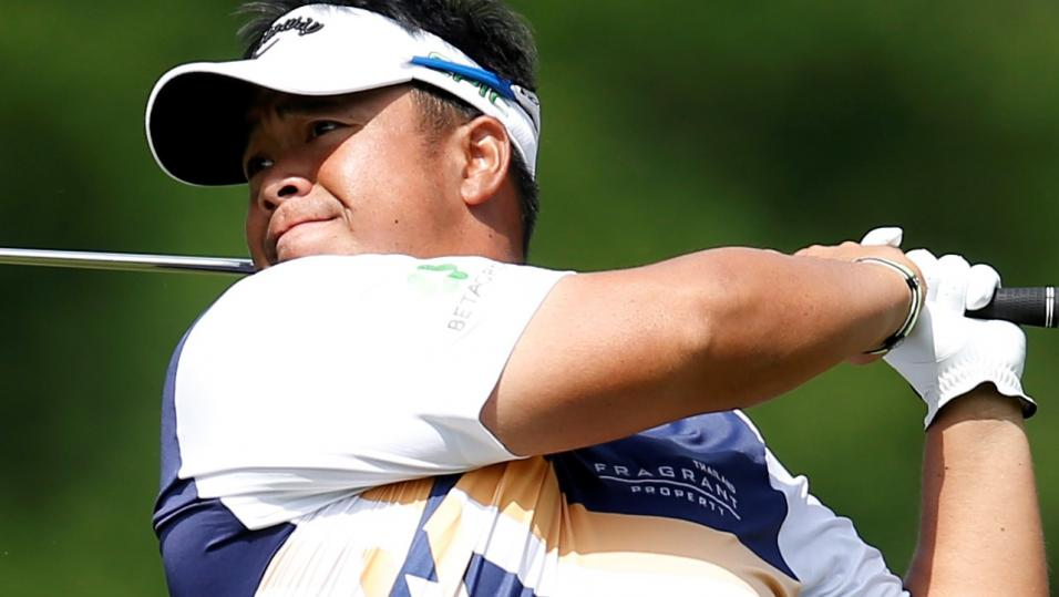 In-form Kiradech Aphibarnrat, the world No 60, has moved 100 positions up the World Ranking during the past 11 weeks.