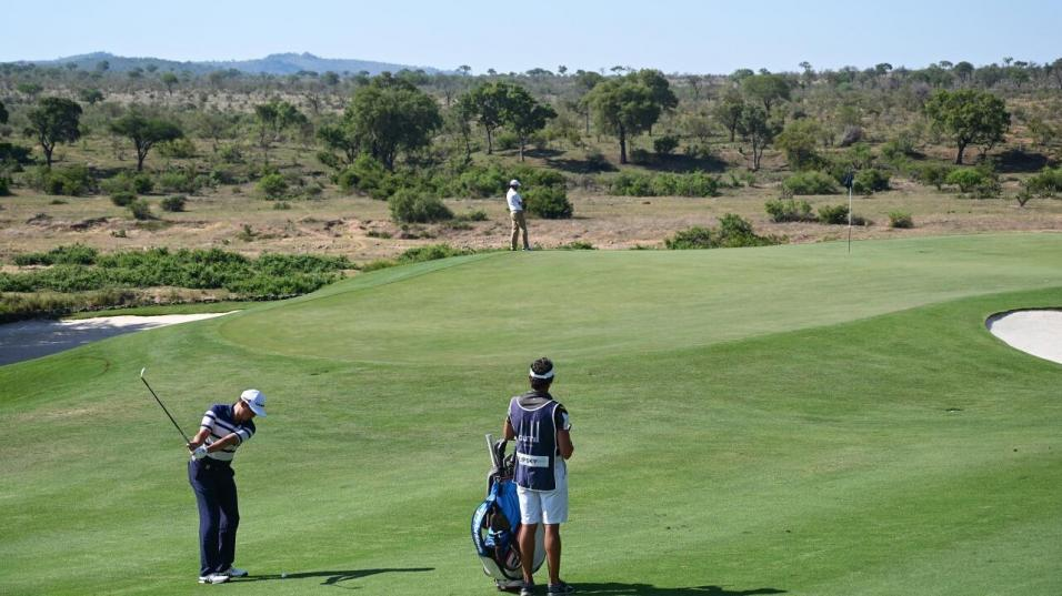 Leopard Creek, home of the Alfred Dunhill Championship, enjoys a rural setting