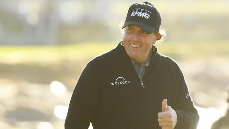 American golfer Phil Mickelson