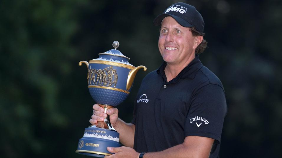 Golfer Phil Mickelson