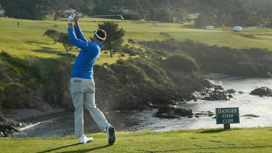 The Pacific Ocean is never far away during the AT&T Pebble Beach Pro-Am