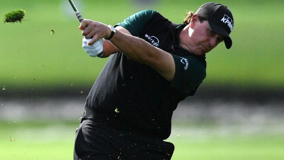 American Phil Mickelson
