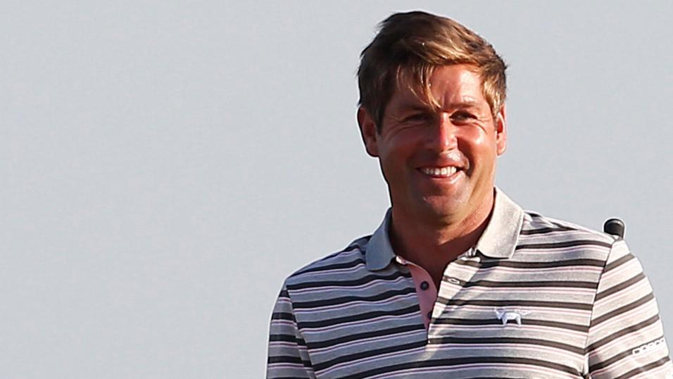 Golfer Robert Rock