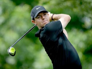 Rory McIlroy at Quail Hollow last year