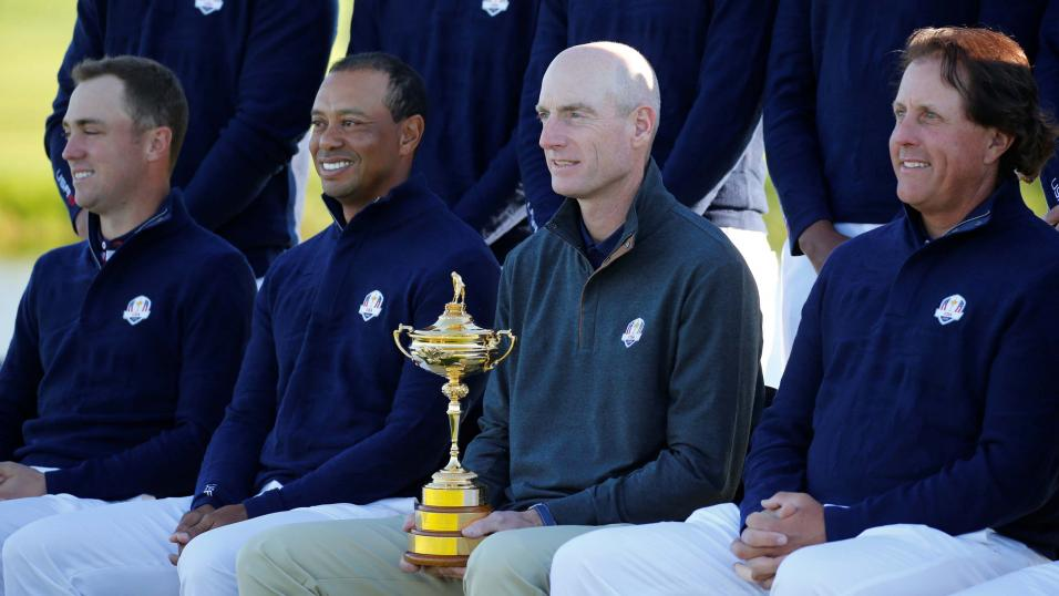 The USA team for the Ryder Cup 2018