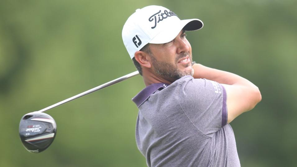 Golfer Scott Piercy
