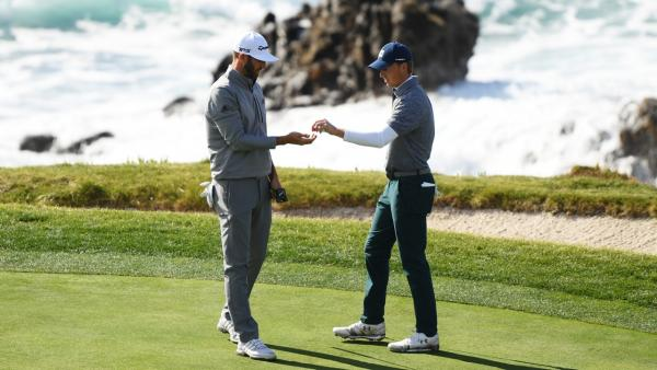 Spieth and DJ at Pebble.jpg
