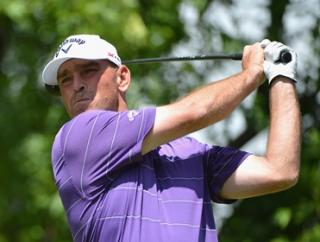 Thomas Bjorn leads the BMW Championship after two rounds