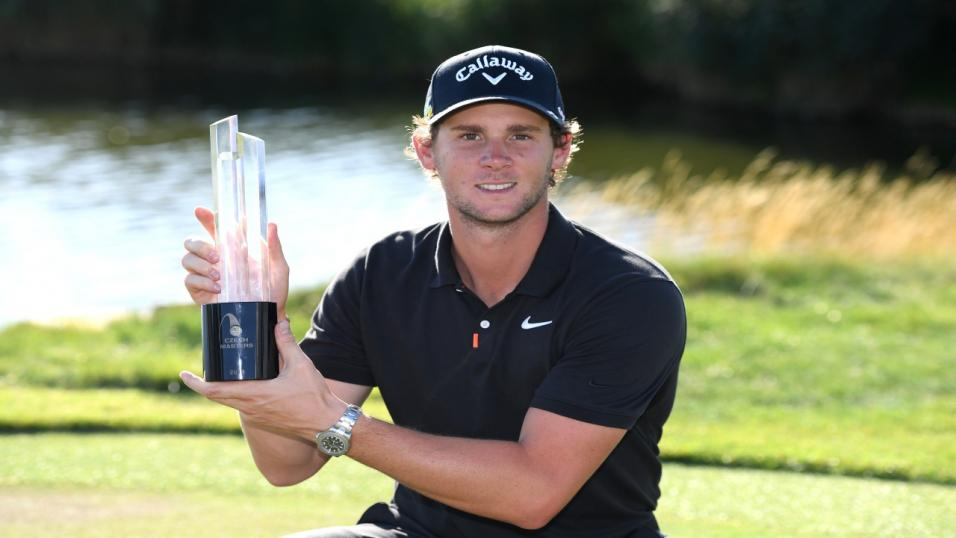 Golfer Thomas Pieters