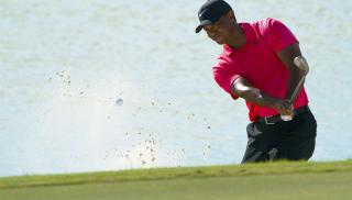 There were promising signs for Tiger at the Hero World Challenge in December