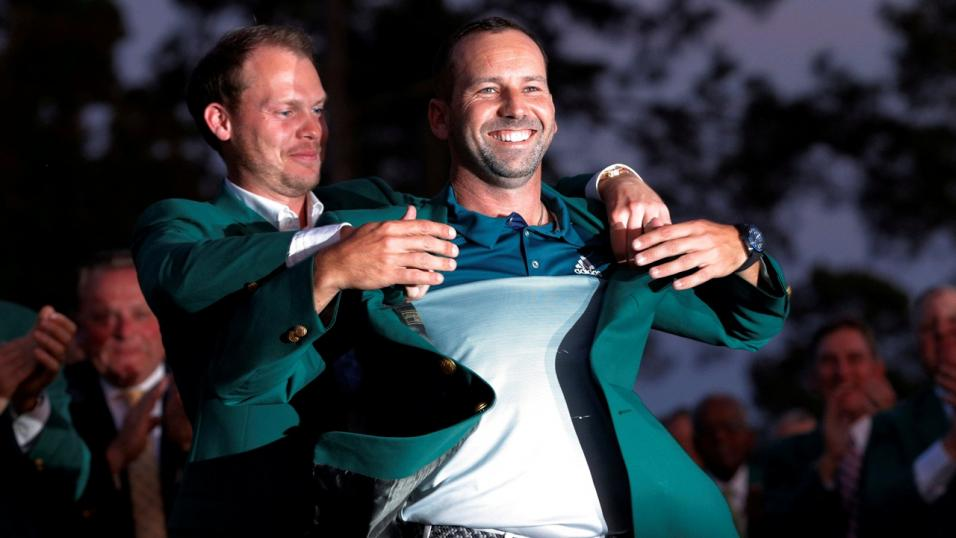 Danny Willett and Sergio Garcia - the last two US Masters champs