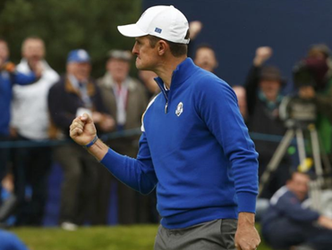 Justin Rose was outstanding all week for Team Europe