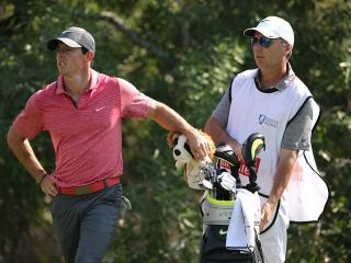 Together no more - Rory has split with his long-time caddie JP Fitzgerald