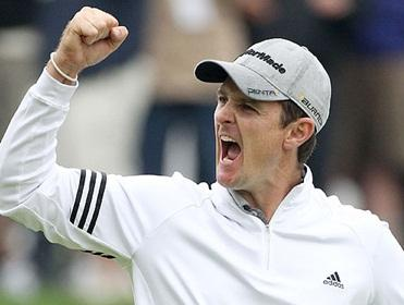 Justin Rose shot a splendid 66 on Saturday