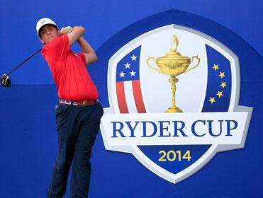 They're getting into the swing of things ahead of the Ryder Cup.