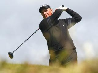 Simon Wakefield at the 2008 Open at Royal Birkdale