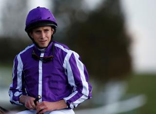 Jockey Ryan Moore rides Sir Michael Stoute's Kokoni on Monday
