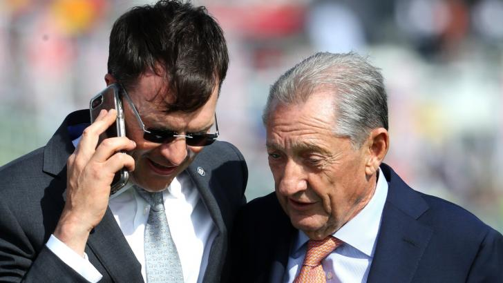 Aidan O'Brien and Derrick Smith