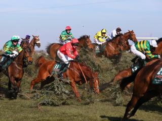 It's day two of the Grand National meeting at Aintree