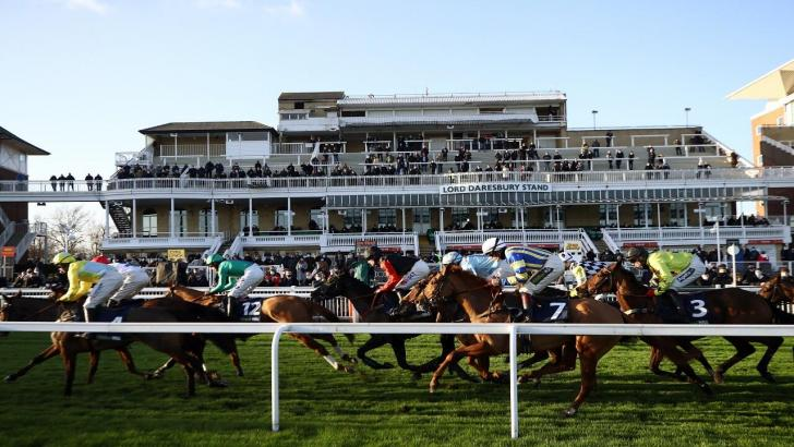 Aintree action