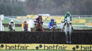 Bristol de Mai winning the Betfair Chase