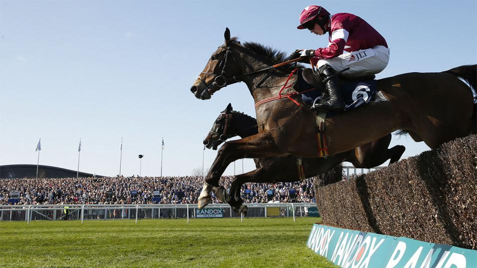 There is jumps racing from Aintree on Friday evening