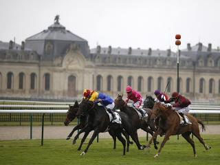There is Group 1 action at Chantilly on Sunday
