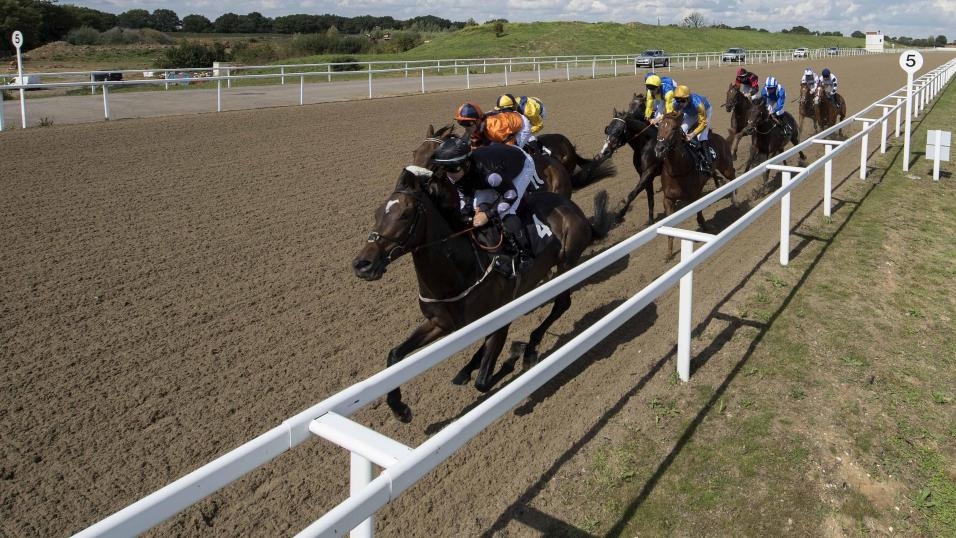Chelmsford City racing action