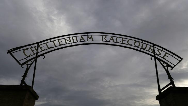 The gates at Cheltenham Racecourse